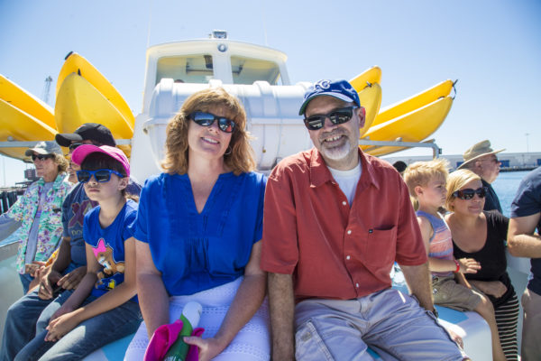 Family on Boat Tour of the Port of Hueneme